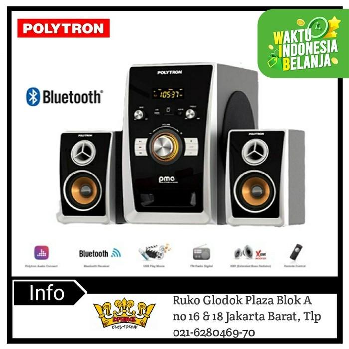 Foto Produk POLYTRON PMA9501 Multimedia Audio Speaker Portabel with Bluetooth dari DPRINCE