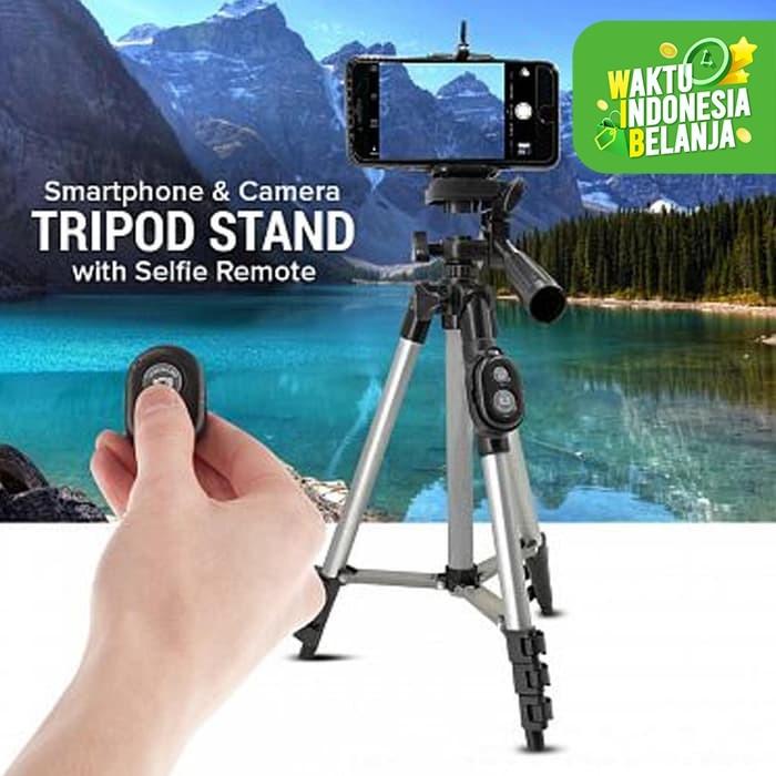 Foto Produk Tripod YUNTENG DK-3888 Foldable Camera Aluminium With Wireless Remote dari Vision Multicom