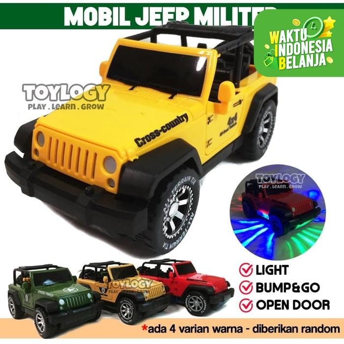 Foto Produk Mainan Anak Mobil Jip Militer Tentara Army Military Car dari Toylogy
