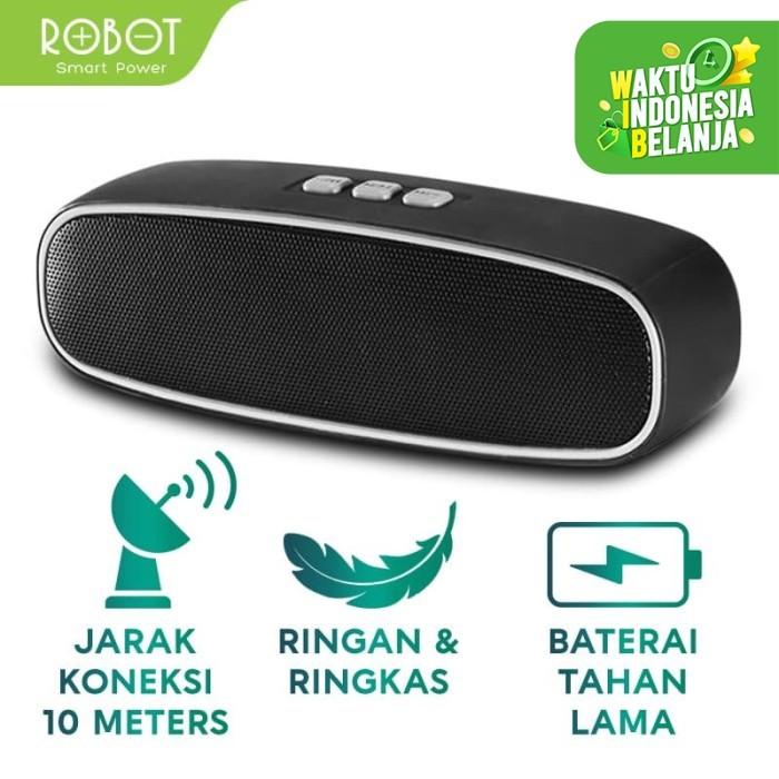 Foto Produk ROBOT RB210 Speaker Bluetooth Support Flashdisk & MicroSD dari ROBOT OFFICIAL SHOP