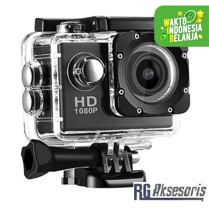 Foto Produk Action Camera / Camera Go Pro No Wifi / Wi fi Full HD 1080P 2inch dari RG AKSESORIS HP