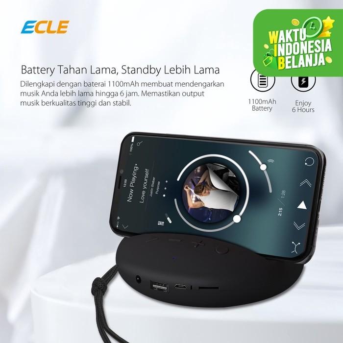 Foto Produk ECLE Bluetooth Wireless Speaker Mini Portable Super Bass Stereo dari ECLE Official Store