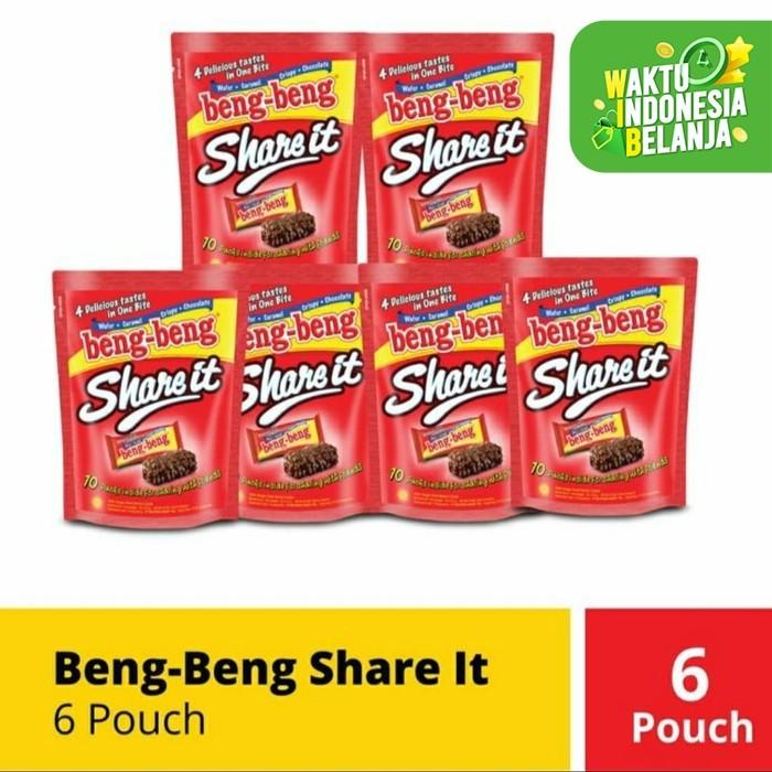 Foto Produk beng beng share it isi 10 ( 6 pouch) dari toko dua putra