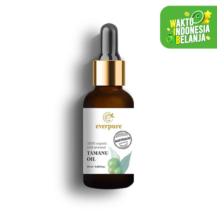 Foto Produk EVERPURE Tamanu Oil - 100% Organic Cold-Pressed dari Everwhite