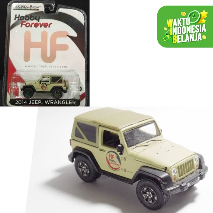 Foto Produk PROMO Greenlight 1:64 2014 Jeep Wrangler Exclusive Edition dari Vovo Toys