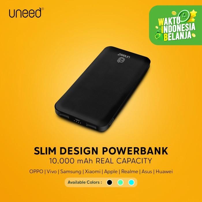 Foto Produk UNEED EasyBox B10 Powerbank 10.000mAh - UPB412 - Hitam dari Uneed Indonesia