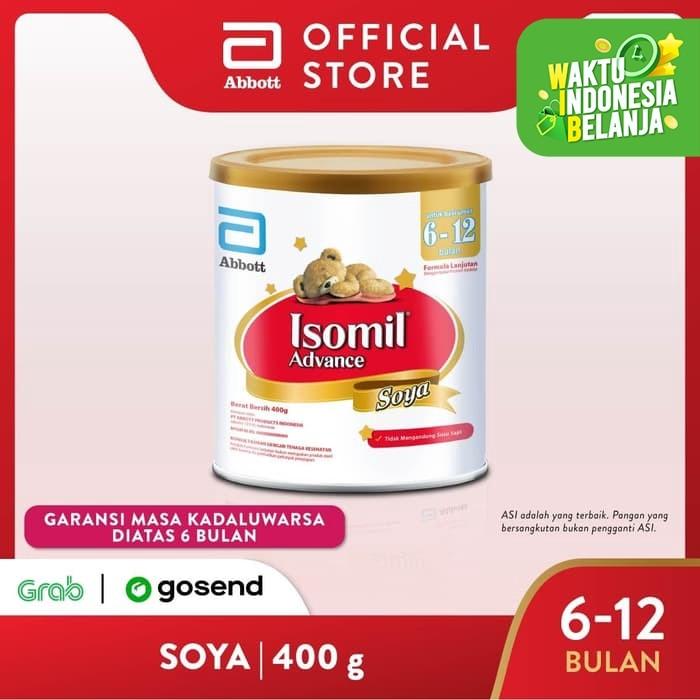 Foto Produk Isomil Advance Soya 400 g (6-12 bulan) Susu Formula Bayi dari Abbott Official Store