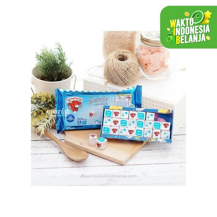 Foto Produk Belcube Plain Baby Cheese 24 Cube / Keju MPASI dari Nourish Indonesia