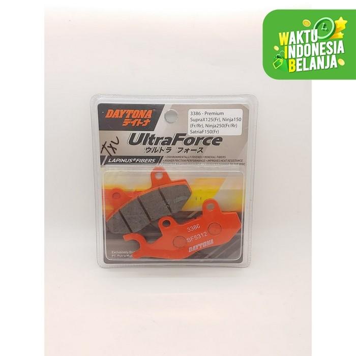 Foto Produk Kampas Rem Depan Ninja 250 Daytona Lapinus Fibers dari Lestari Motor 2