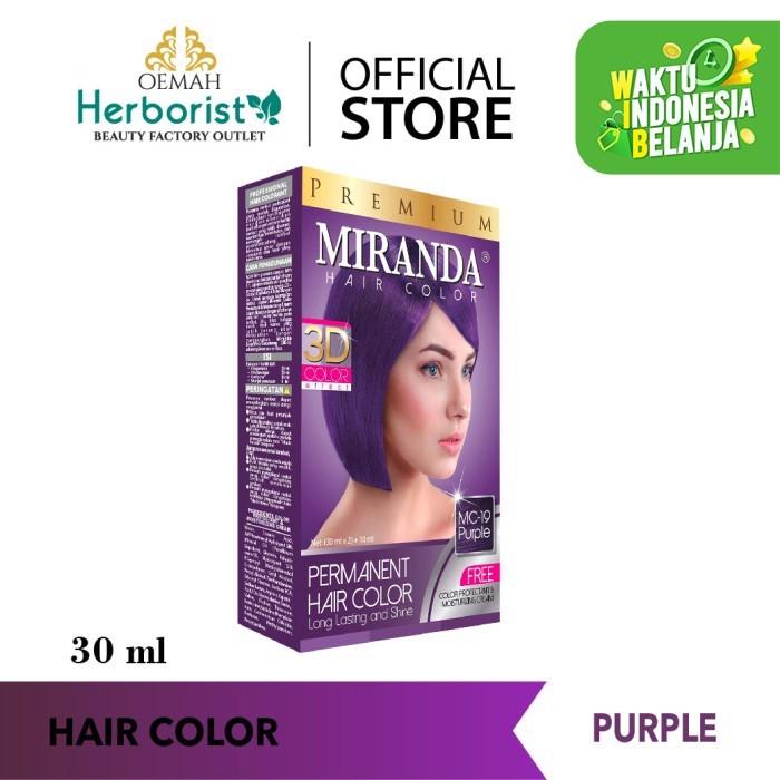 Foto Produk Miranda Hair Color - Purple 30ml dari Oemah Herborist