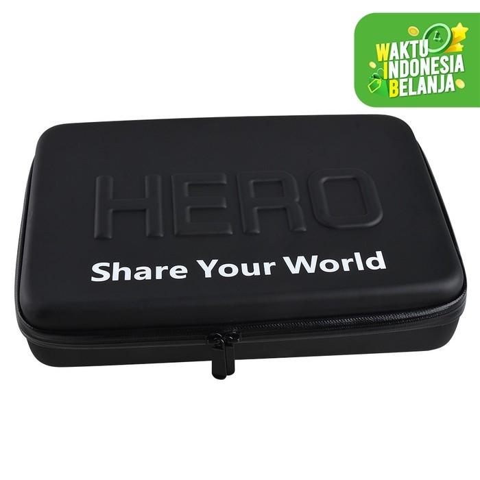 Foto Produk HERO Waterproof EVA Medium Size Case Tas Bag For GoPro & Xiaomi Yi dari lbagstore