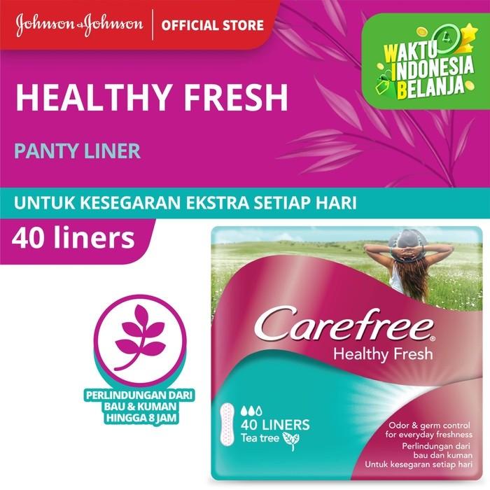 Foto Produk Carefree Healthy Fresh 40's dari Johnson & Johnson