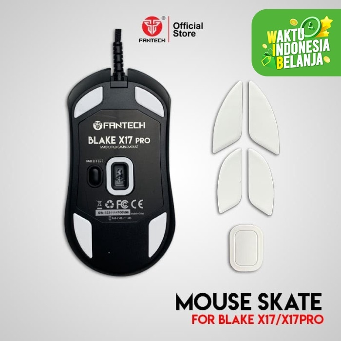 Foto Produk Mouse Feet Skate Gaming for Fantech Blake X17 / X17 PRO dari Fantech Official Store