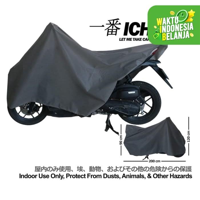 Foto Produk Cover Motor Sarung Selimut Body Motor ICHIBAN indoor Matic Bebek dari lbagstore