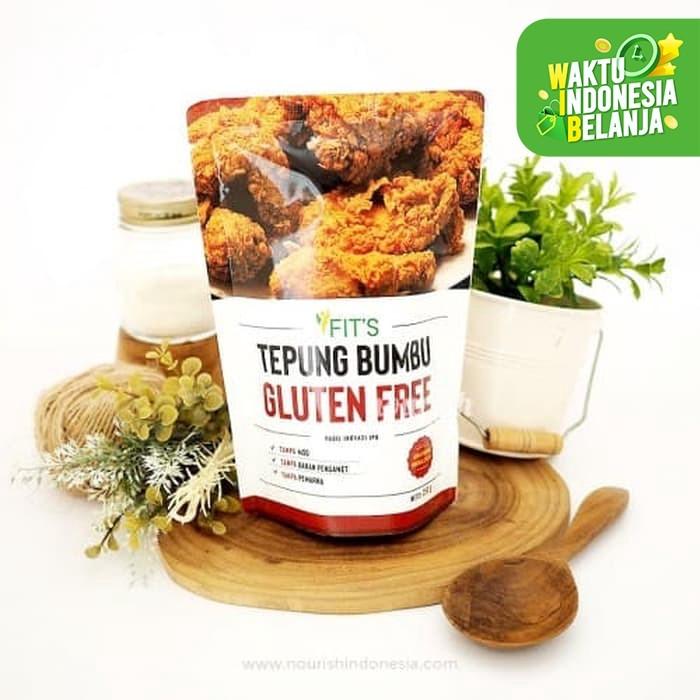 Foto Produk Fits Mandiri, Tepung Bumbu Ayam Goreng Gluten Free NON MSG dari Nourish Indonesia
