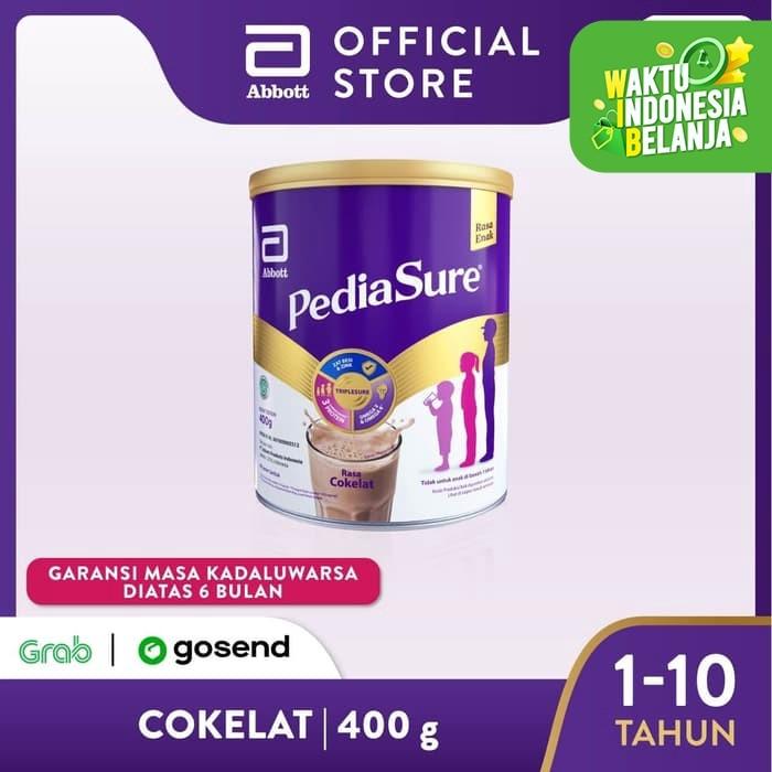 Foto Produk Pediasure Coklat 400 g (1-10 tahun) Susu Formula Pertumbuhan Anak dari Abbott Official Store