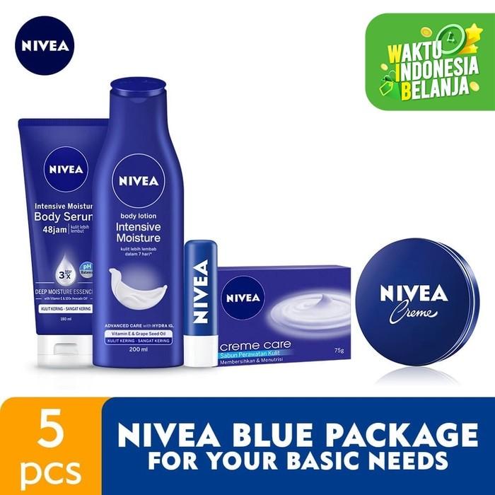 Foto Produk NIVEA Blue Package for Your Basic Needs dari NIVEA Official