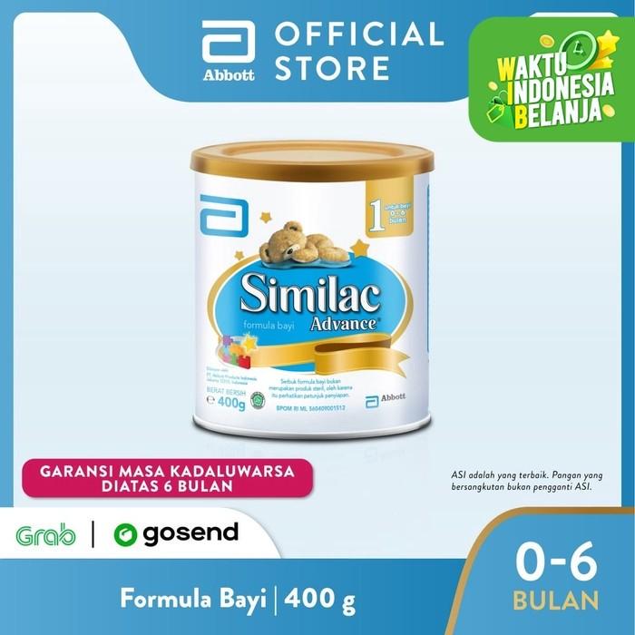 Foto Produk Similac Advance 1 400 g (0-6 bulan) Susu Formula Bayi dari Abbott Official Store