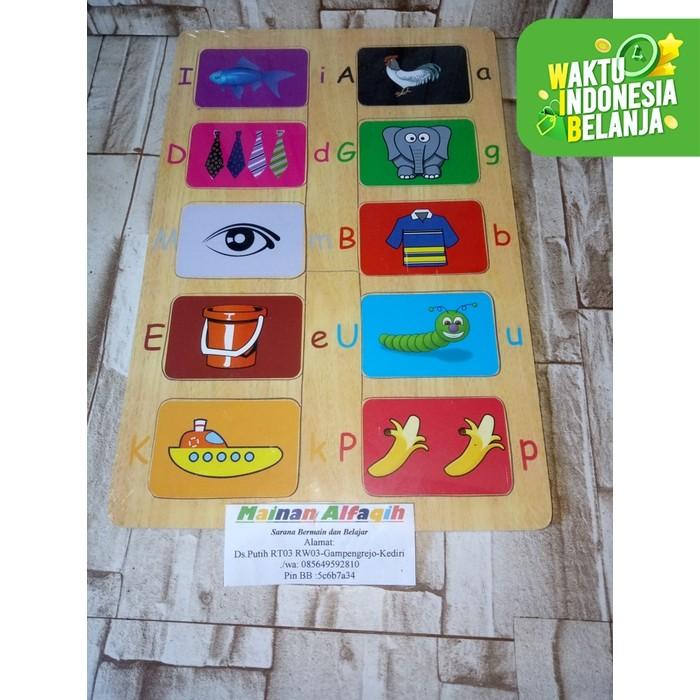 Foto Produk Mainan Edukasi Anak- Puzzle Kayu Tebak Gambar dari Mainanalfaqih
