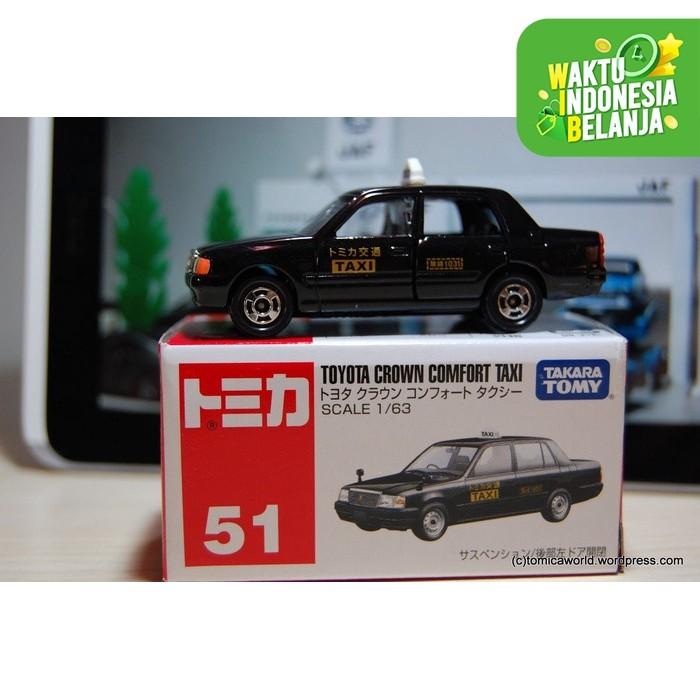 Foto Produk Tomica Reg-51 Toyota Crown Comfort Taxi dari Vovo Toys