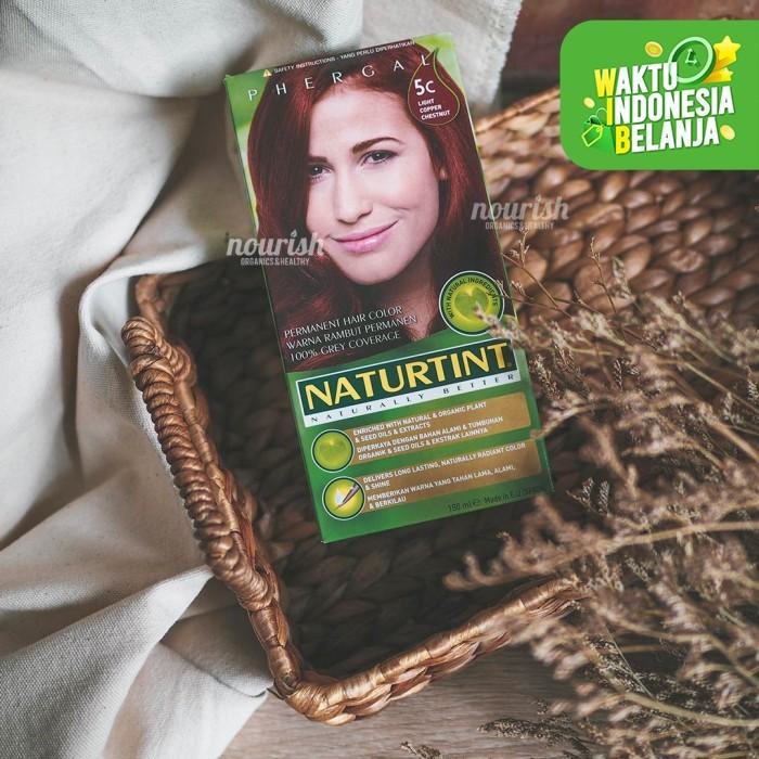 Foto Produk Naturtint, Permanent Hair Color, 5C Light Copper Chestnut dari Nourish Indonesia