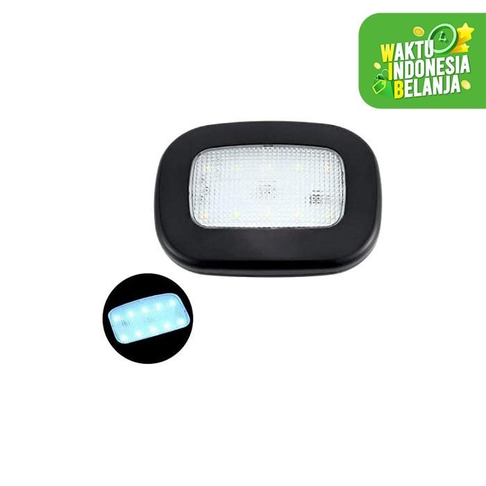 Foto Produk Lampu LED tempel Magnet Portable Recharge Plafon Mobil Emergency Y-975 - Hitam dari lbagstore