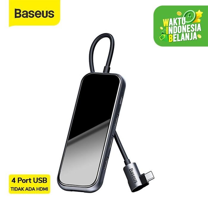 Foto Produk BASEUS USB TYPE C HUB TO 4xUSB2.0 - 4 port ekspansi dari Baseus Official Store