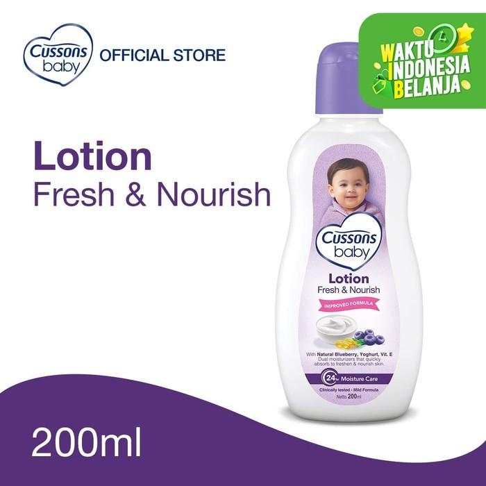 Foto Produk Cussons Baby Lotion Fresh & Nourish 200ml dari Cussons Official Store
