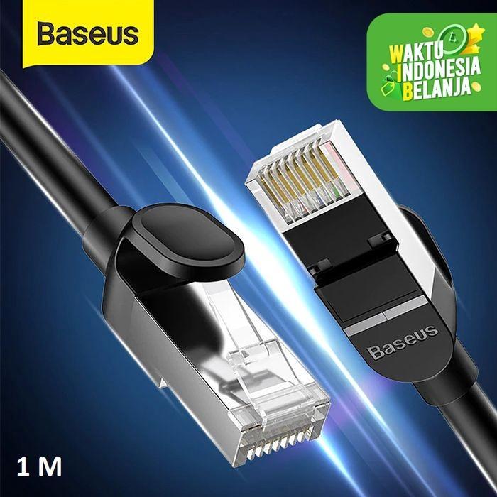 Foto Produk BASEUS KABEL LAN ETHERNET RJ45 SPLITTER NETWORK ETHERNET CONNECTER - Kabel 1 M dari Baseus Official Store