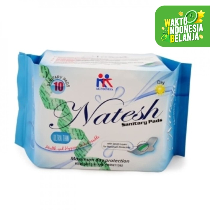 Foto Produk Natesh Sanitary Pad Day Use with imagnetic (10pc) dari Nourish Indonesia