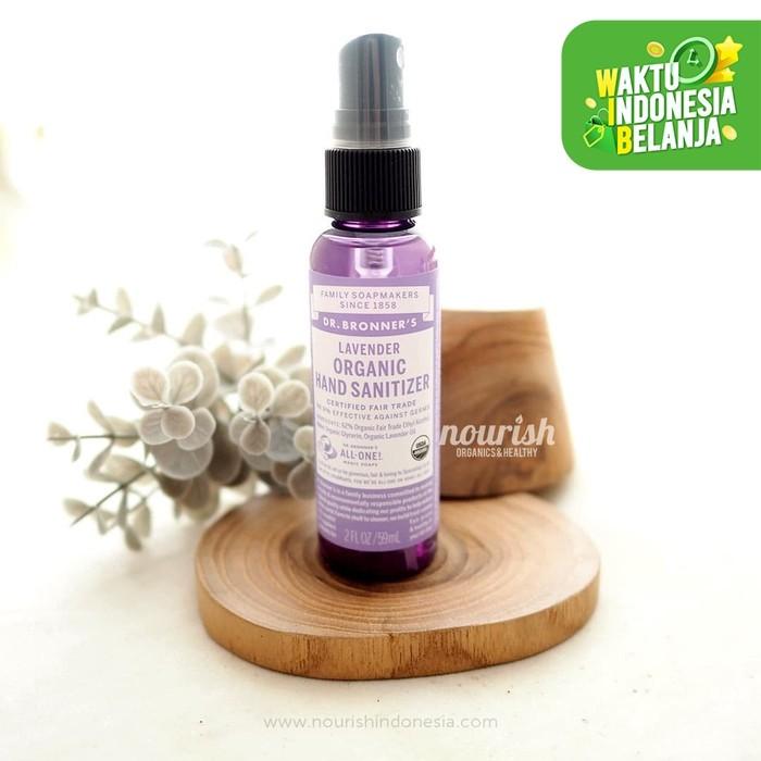 Foto Produk Dr Bronners Organic Hand Sanitizer - Lavender 59ml dari Nourish Indonesia