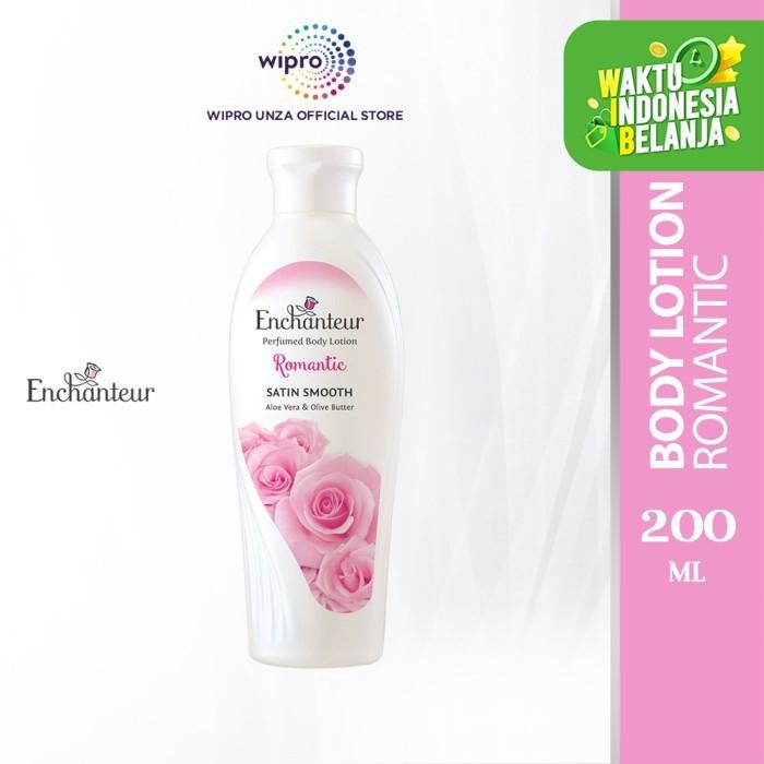 Foto Produk Enchanteur Romantic Perfumed Body Lotion 200 Ml dari Wipro Unza Official
