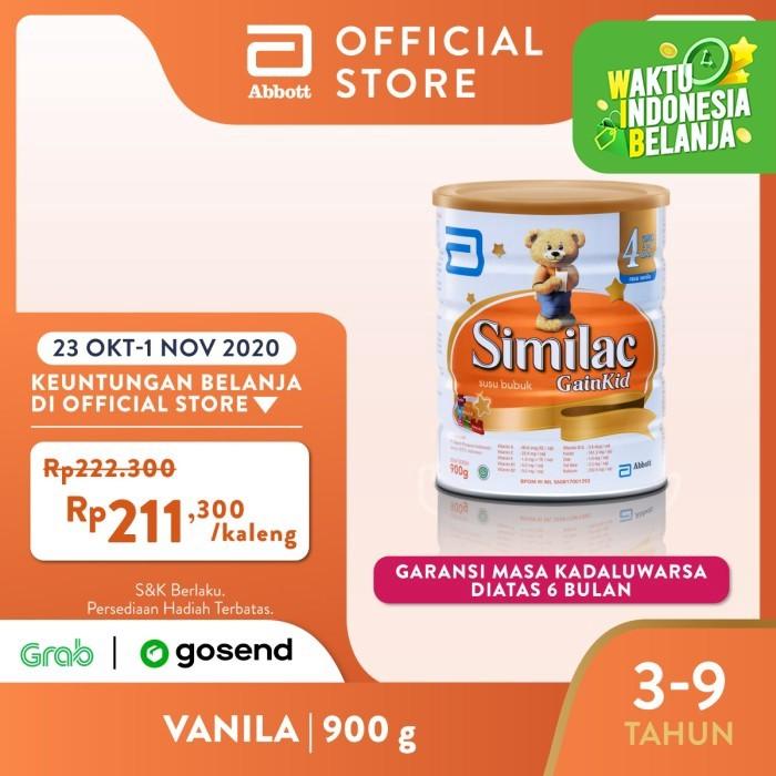 Foto Produk Similac GainKid 900 g (3-9 tahun) Susu Pertumbuhan dari Abbott Official Store
