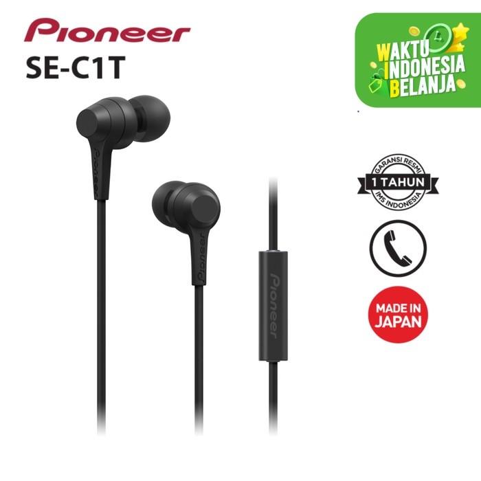 Foto Produk Pioneer - C1T Earphone - Hitam dari Pioneer Official Store