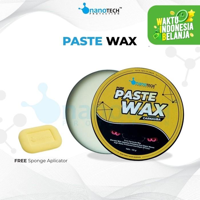 Foto Produk PASTE WAX NANOTECH PROTECTION | WAX MOBIL & MOTOR | CARNAUBA WAX dari Nanotech Protection