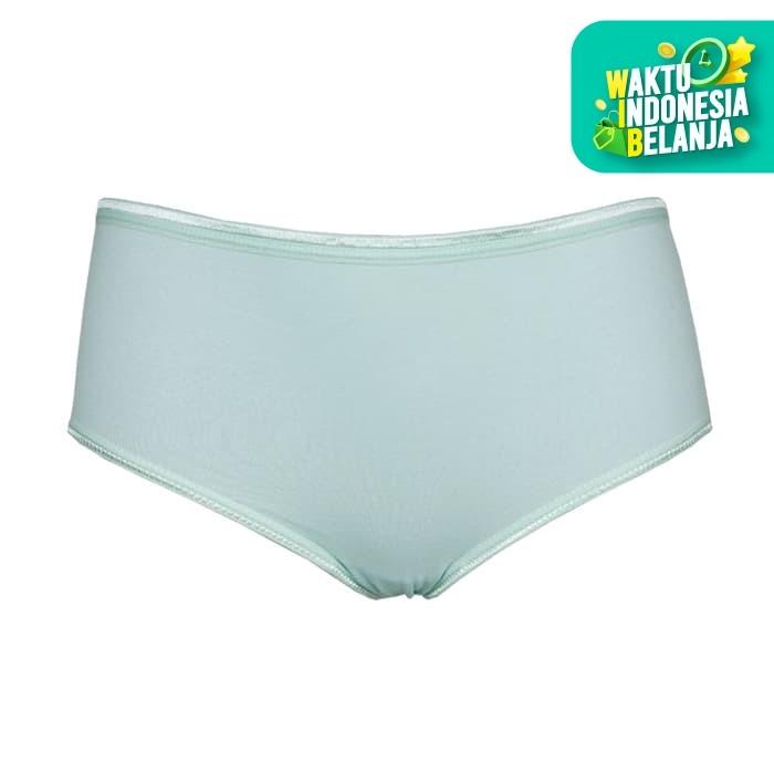 Foto Produk Nathalie Midi Comfortable Panties Celana Dalam Wanita 1 PCS NTC 3214 - Biru Muda, M dari Flyman Nathalie Store