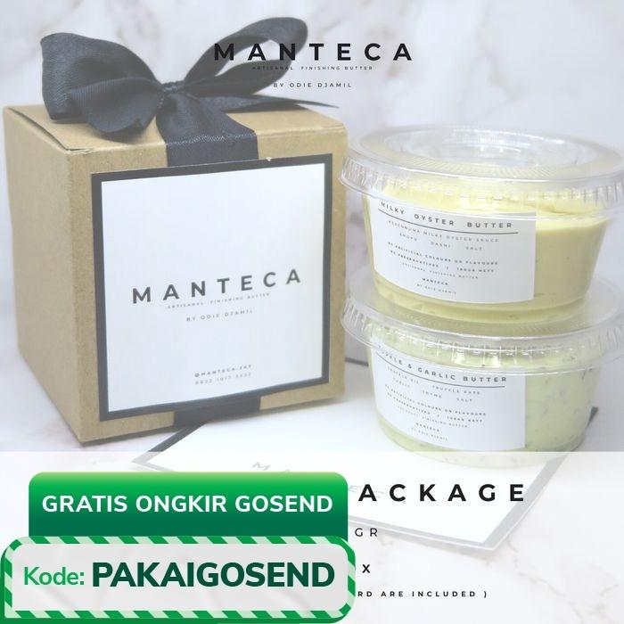 "Foto Produk MANTECA Set of 2 ""Hampers Package"" Finishing Butter dari BYOD Online"