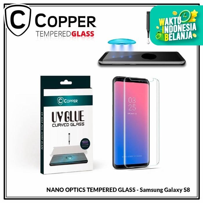Foto Produk Samsung Galaxy S8 - COPPER Nano UV Glue Tempered Glass dari Copper Indonesia