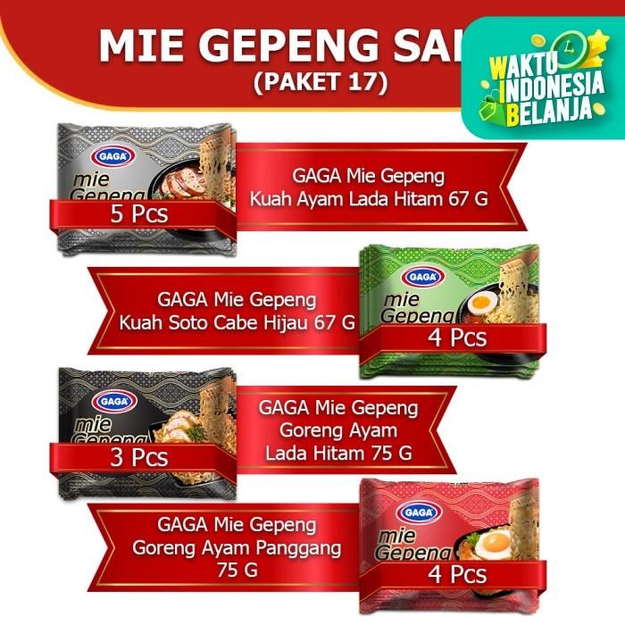 Foto Produk Mie Gepeng Sales 16 pcs (campur semua varian rasa) (17) dari Gaga Official Store
