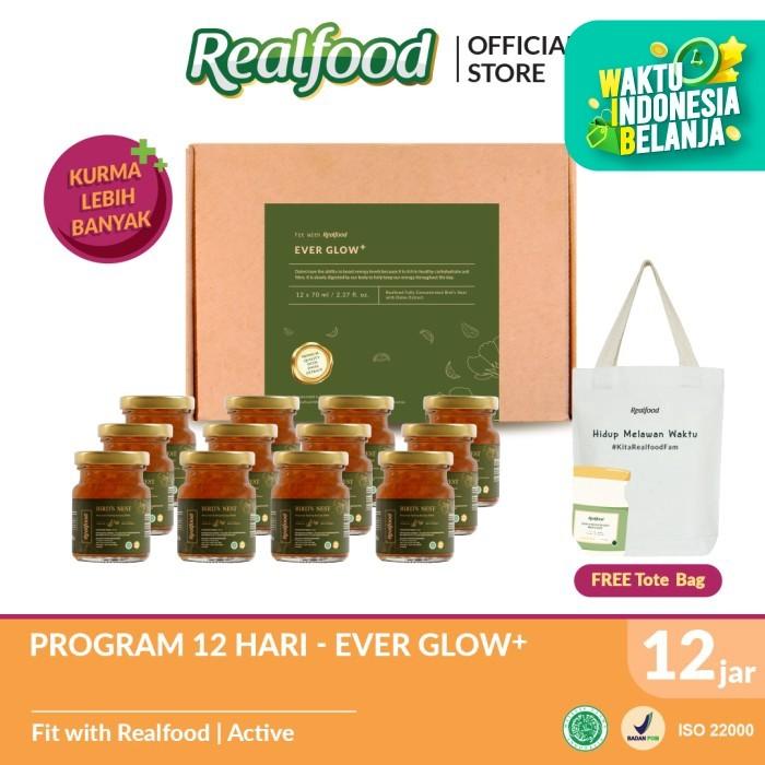 Foto Produk NEW!! Realfood Ever Glow Plus Free Totebag dari Realfood