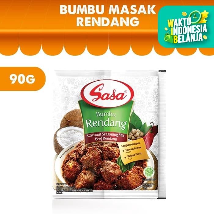 Foto Produk SASA Bumbu Rendang 90g dari Sasa Official Store