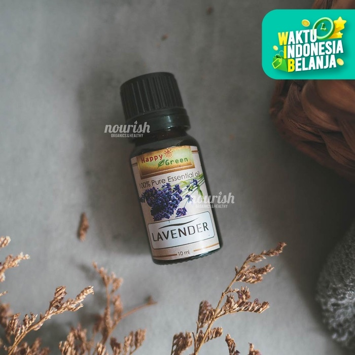 Foto Produk Happy Green Lavender Essential Oil 10 ml dari Nourish Indonesia