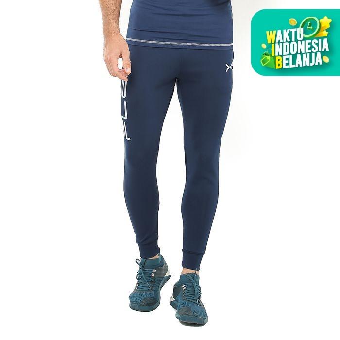 Foto Produk FLEXZONE Celana Jogger - Navy - for Gym Running Jogging FCS-002DK - XL dari FLEXZONE