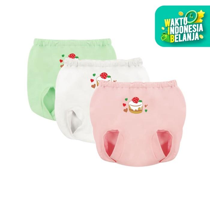 Foto Produk Nbaby Celana Dalam Anak Bayi 3 PCS NBC 3267 - 12-24 Bulan dari Flyman Nathalie Store