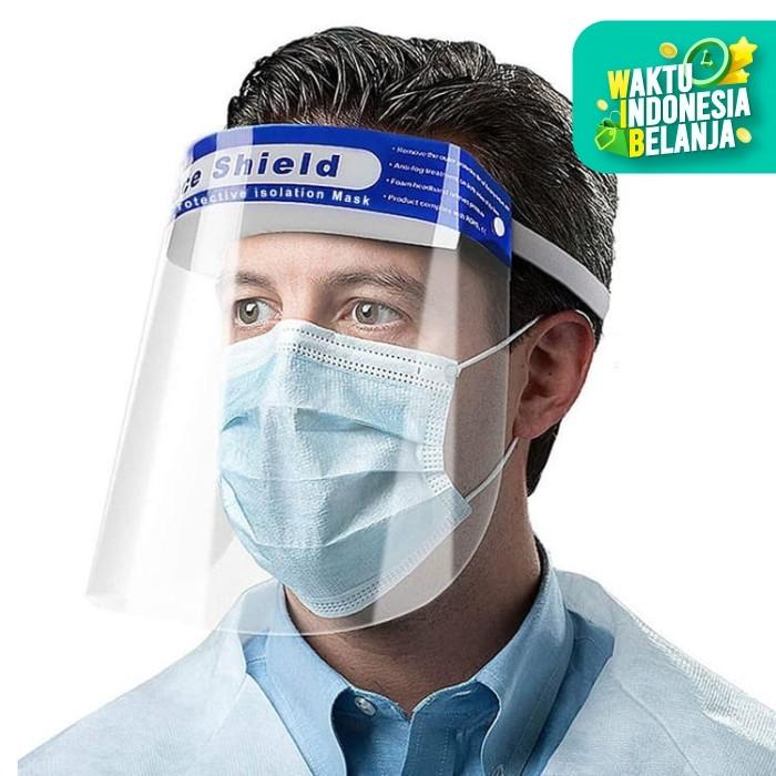 Foto Produk TAIHE Face Shield Pelindung Wajah Anti Fog Mask Protection dari Onebest Choice