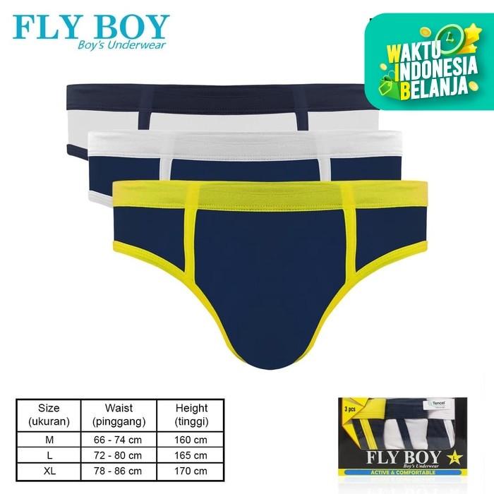 Foto Produk Flyboy Boys Briefs Summer Color FBC 3217 - M dari Flyman Nathalie Store