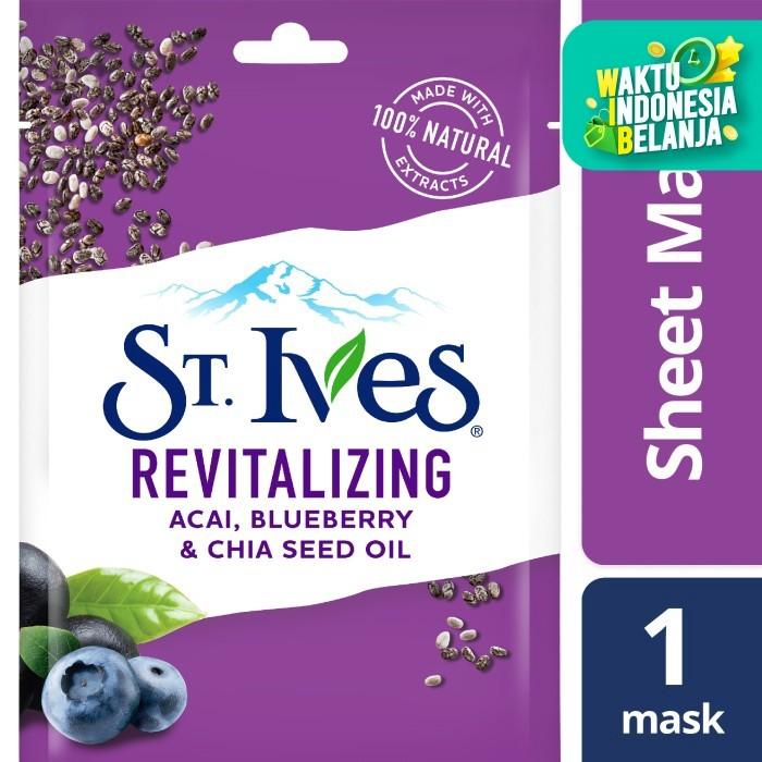 Foto Produk St.Ives Revitalizing Sheet Mask 230Ml dari Unilever Official Store