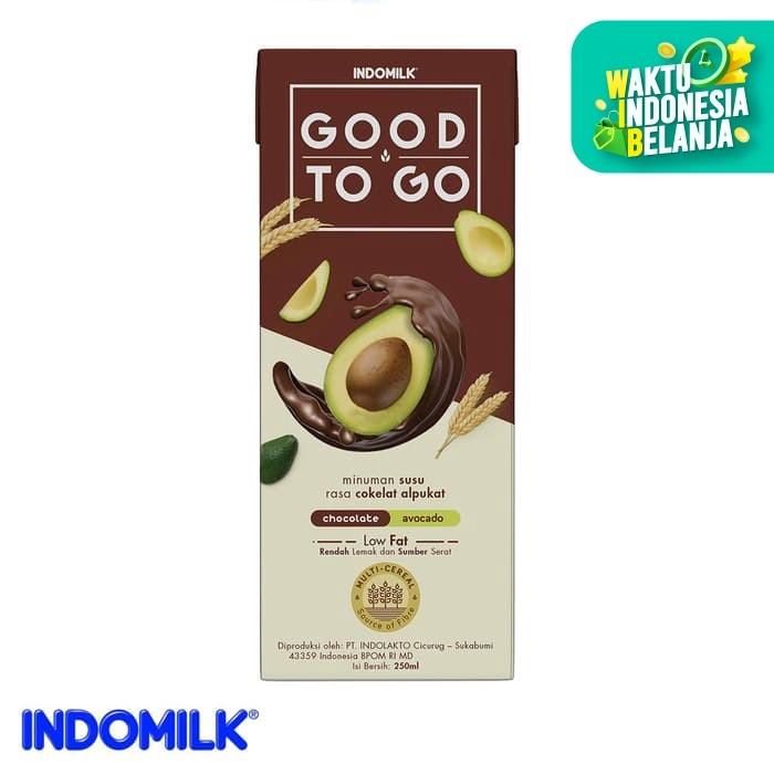Foto Produk Indomilk UHT Good To Go Cokelat Alpukat 250 ml X 4 Pcs dari Indomilk Official Store