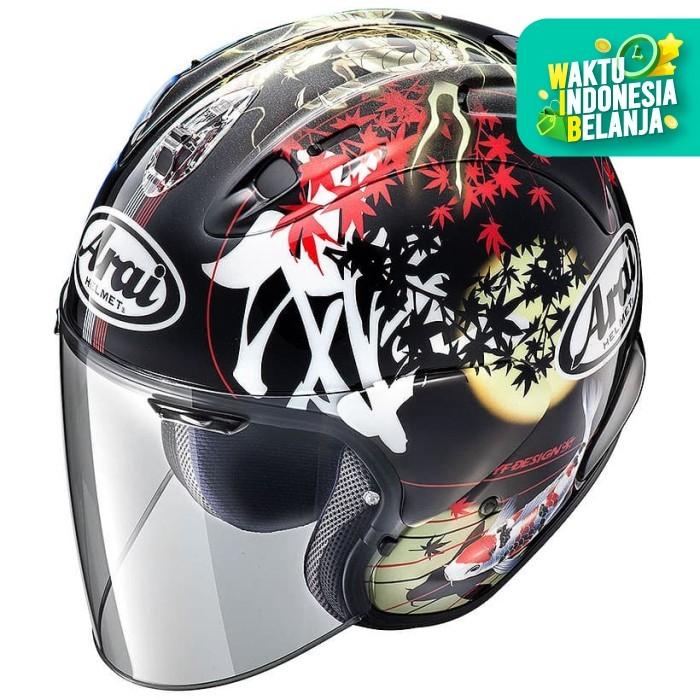 Foto Produk Arai VZ RAM ORIENTAL 2 Original SNI Helm Half Face - ORIENTAL 2 - XL dari Helm Cargloss