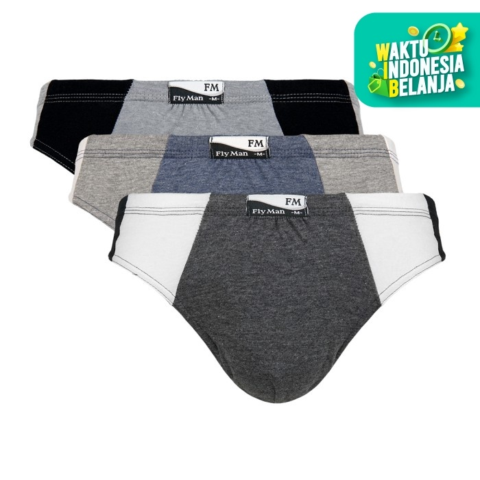 Foto Produk Flyman Celana Dalam Pria FM 381 - M dari Flyman Nathalie Store